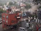 catastrophic scenes | Mud tsunami sweeps through Japan and wipes an entire residential neighborhood off the map