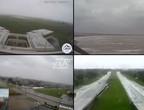 بث مباشر   4 كاميرات ترصد بشكل مباشر قوة تأثيرات اعصار ايدا على سواحل أمريكا الان