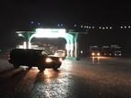 بالصور.. الأمطار والغيوم المنخفضة تزين سماء الرياض ليلة الثلاثاء