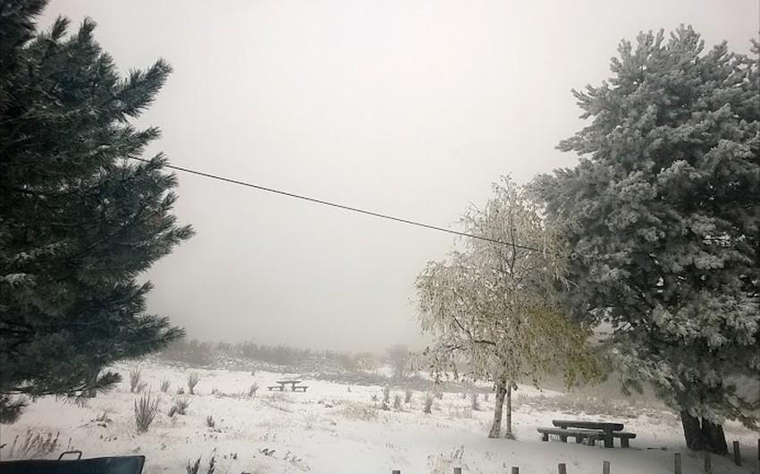 مشهد عام للثلوج في تركيا- المصدر منتدى البراري