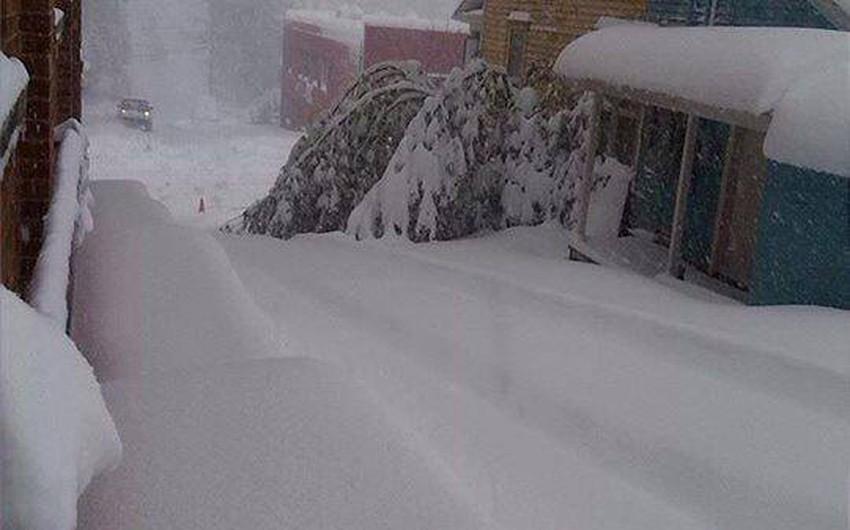 تزامن تساقُط الثلوج بكثافة في داكوتا الجنوبية مع حدوث أعاصير قمعية في ولايات أخرى