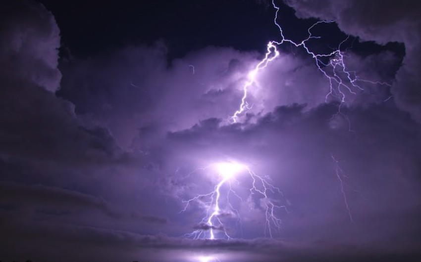 تتمركز هذه العاصفة فوق بحيرة ماراكايبو في أراضي فنزويلا