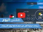 فيديو طقس اليوم في الأردن | الأربعاء 2020/6/3