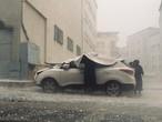 لقطات للأمطار الغزيرة التي شهدتها اسطنبول بتاريخ 29/9/2020