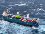 بالفيديو | عملية انقاذ طاقم السفينة الهولندية التي صارعت الأجواء العاصفة في بحر الشمال