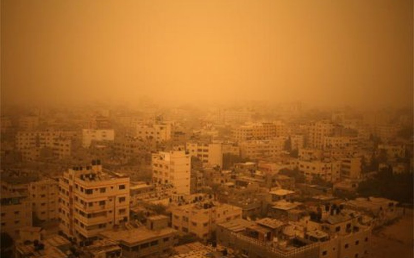 On this day in 2015 | A historical sandstorm hit the Levant ... witness