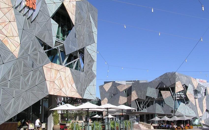 ساحة الاتحاد تعد من اشهر الاماكن السياحية فى ملبورن وهى واحة ثقافية على مساحة 3.6 هكتار