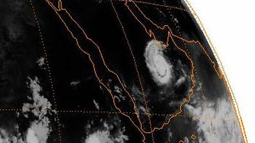 Video   This is how the satellites detected a hurricane in Saudi Arabia in 1992. Will the scene be repeated?