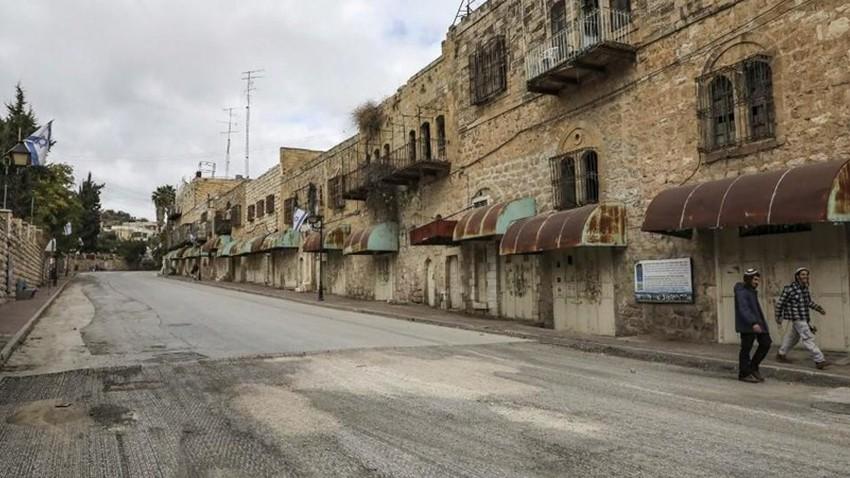 فلسطين | اغلاق الخليل بسبب الانتشار المتسارع لكورونا