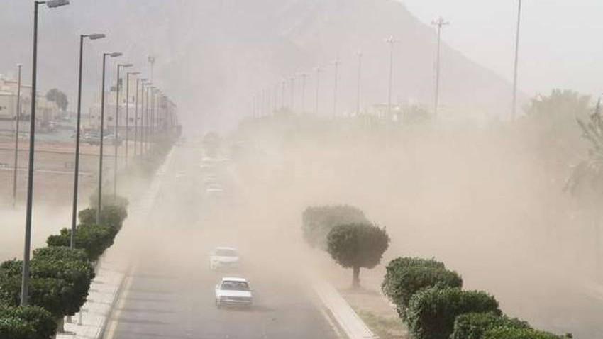 الخميس | منخفض خماسيني... وفرصة لزخات من الأمطار الرعدية وارتفاع نسب الغبار