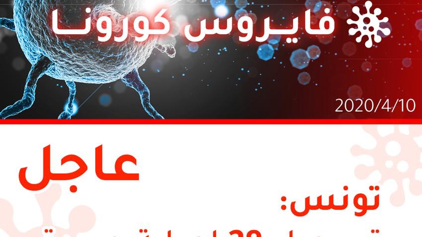 تونس | تسجيل 28 إصابة جديدة بالفايروس كورونا وارتفاع إجمالي الإصابات إلى 671 إصابة
