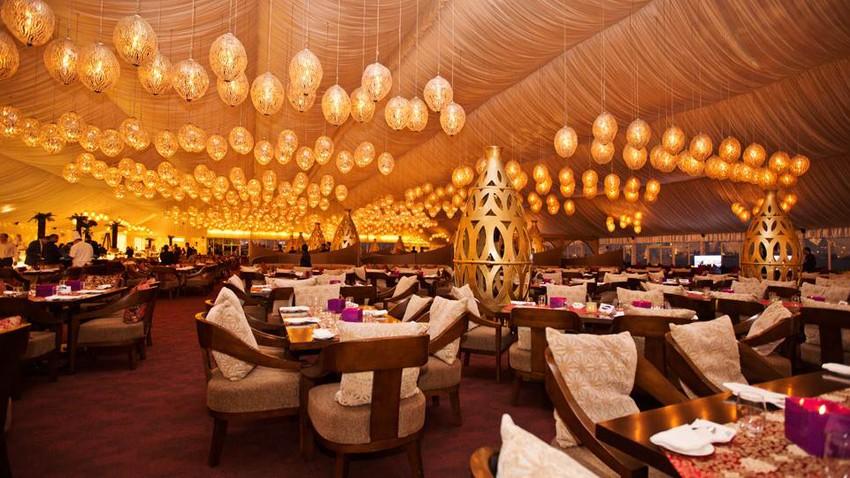 أفخم 7 خيم رمضانية للإفطار في دبي