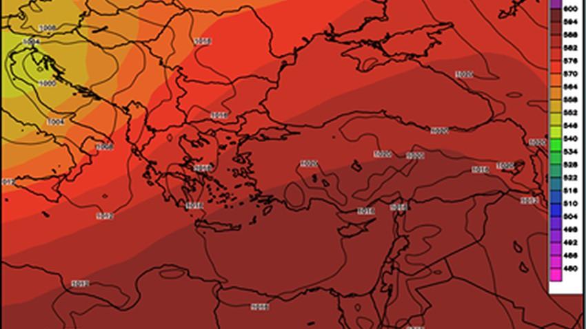 يوم الاثنين كتلة هوائية حارة نسبيًا تأثر على البلاد