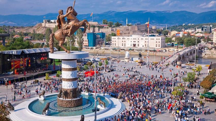 أشهر المدن السياحية في مقدونيا
