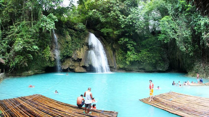 شلالات كاواسان في الفلبين