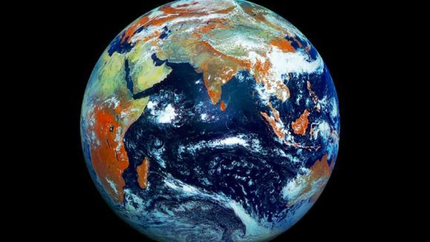 طقس العرب - صورة الأرض