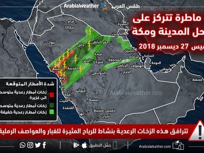 الطقس في ينبع طقس العرب