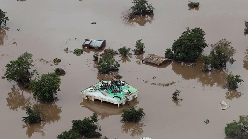 موزمبيق | 22 شخص لقو حتقهم بسبب الفيضانات