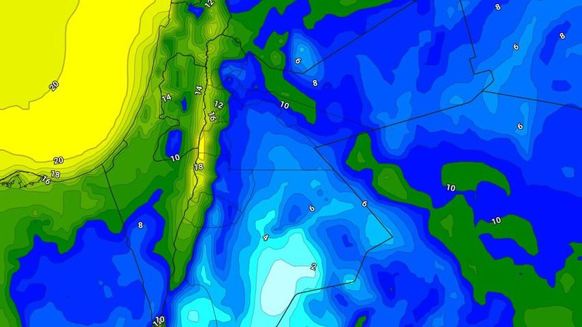 الليلة | طقس بارد مع تشكل الضباب في مناطق واسعة من السهول الشرقية والبادية الشرقية