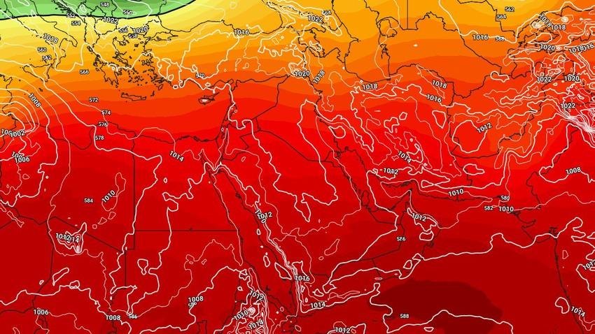 Friday - rise in temperatures