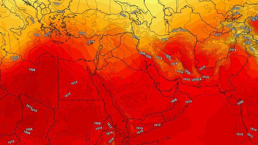 إرتفاع ملحوظ على درجات الحرارة - الأحد