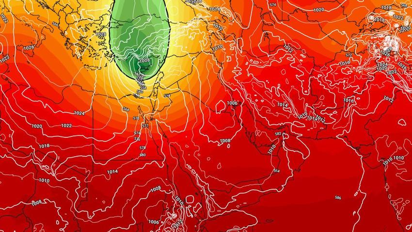 Saturday - a significant drop in temperature