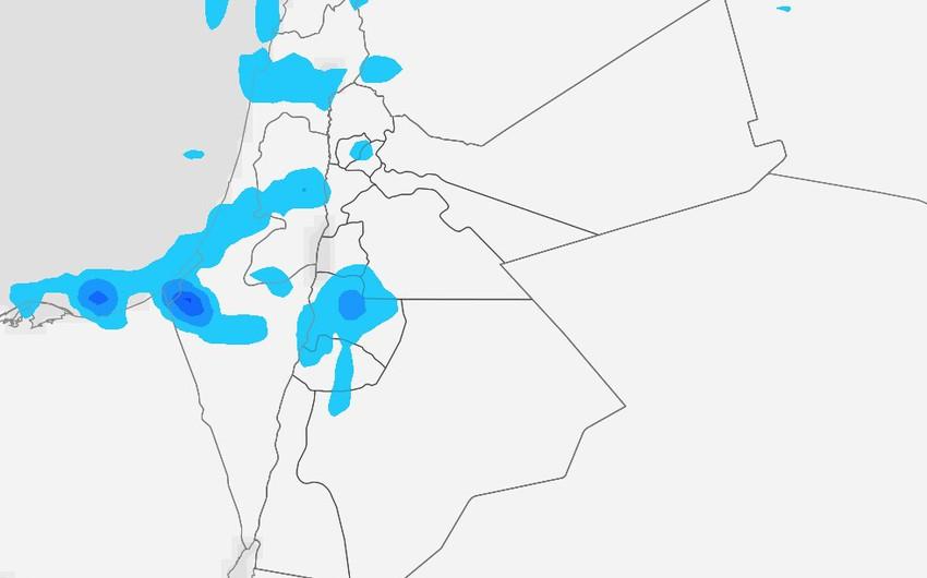 الأردن   استمرار فرص هطول الأمطار خلال ماتبقى من اليوم