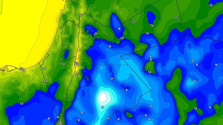 الليلة | طقس بارد في عموم المناطق مع استمرار هبوب الرياح الشرقية