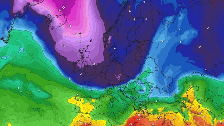 Une descente polaire sur le nord de l'Europe apporte de fortes chutes de neige et des vents violents cette semaine