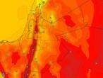 الأحد | بدء تأثر المملكة بالكتلة الهوائية المعتدلة وطقس صيفي معتدل عموماً