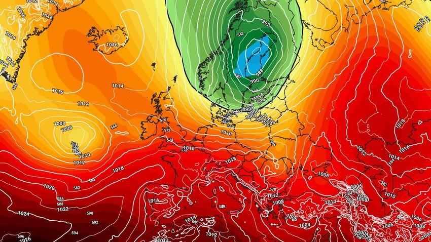 Les phénomènes météorologiques extrêmes se poursuivent... une vague de neige précoce dans le nord de l'Europe