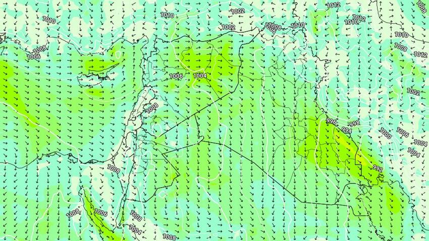 Kuwait | Al-Bawareh winds will blow again in Kuwait on Tuesday
