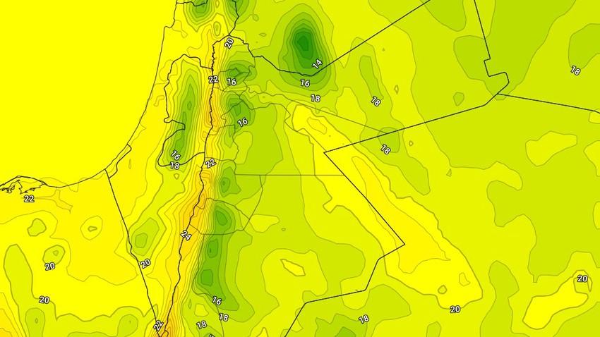 الأحد | ارتفاع طفيف على درجات الحرارة مع بقاء الأجواء مائلة للبرودة