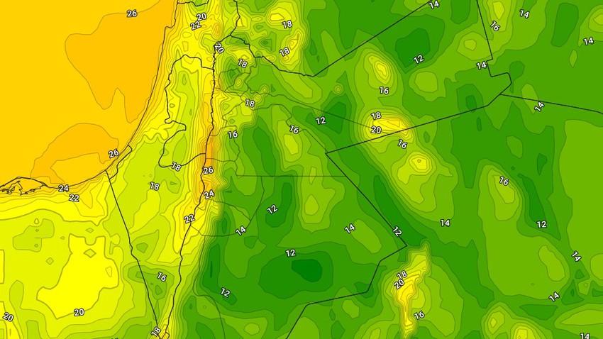 الليلة | طقس مائل للبرودة ورطب في غالبية المناطق