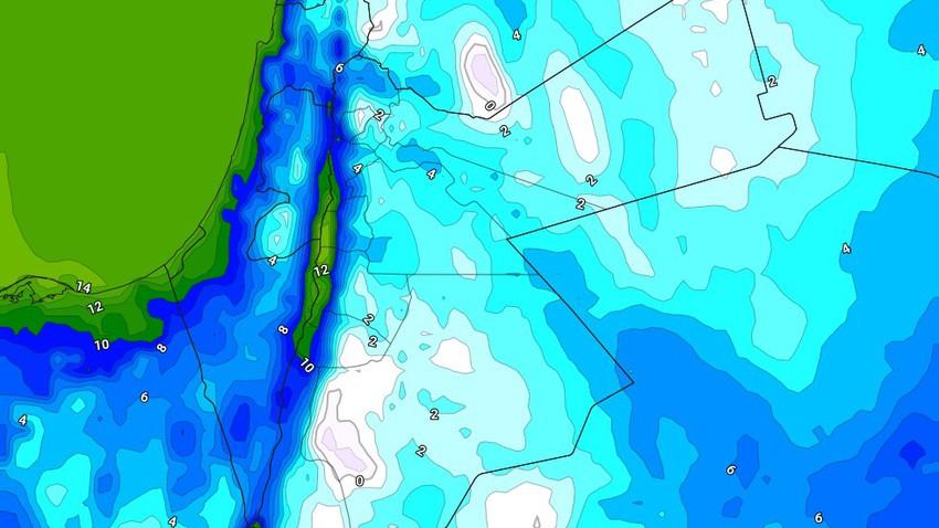 الليلة   درجات حرارة صفرية في بعض المناطق وصقيع مُتوقع في أجزاء عديدة من المملكة