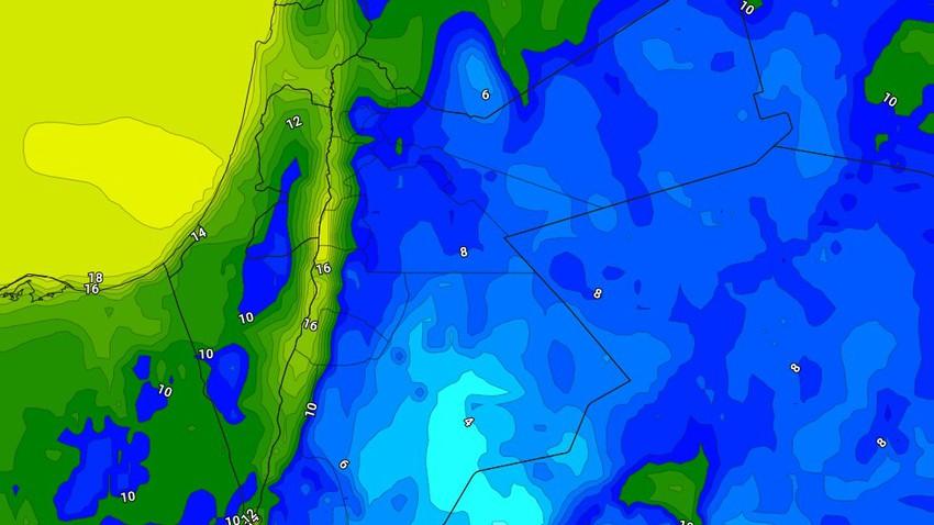 الليلة | طقس بارد مع هطول الأمطار في عدد من المناطق