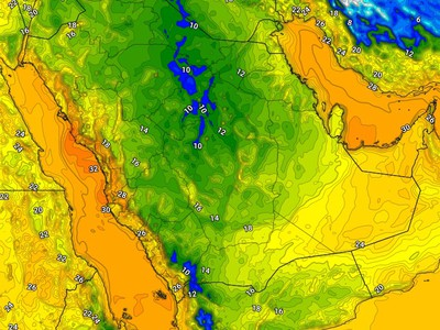 Saudi Arabia | Cold weather tonight is unusual for this time of year