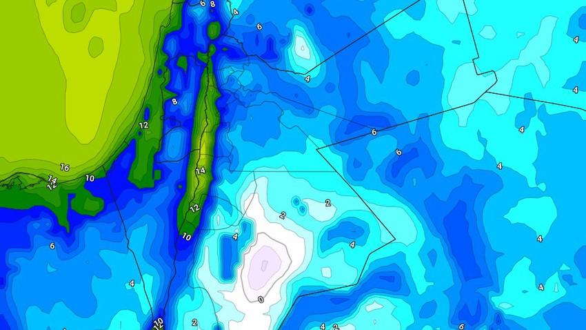 الليلة | طقس بارد إلى شديد البرودة مع تشكل الصقيع في البادية الجنوبية