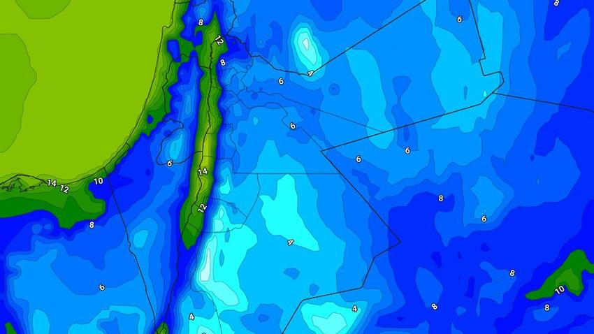 الليلة | انخفاض درجات الحرارة الليلية وفرصة لزخات من الأمطار بمناطق محدودة