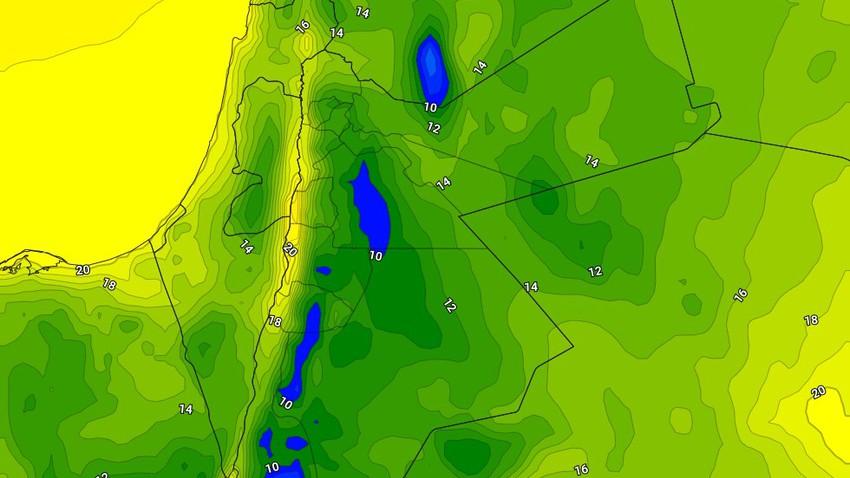 الأردن | ليلة السبت/الأحد هي الأبرد منذ بداية شهر أيار الحالي