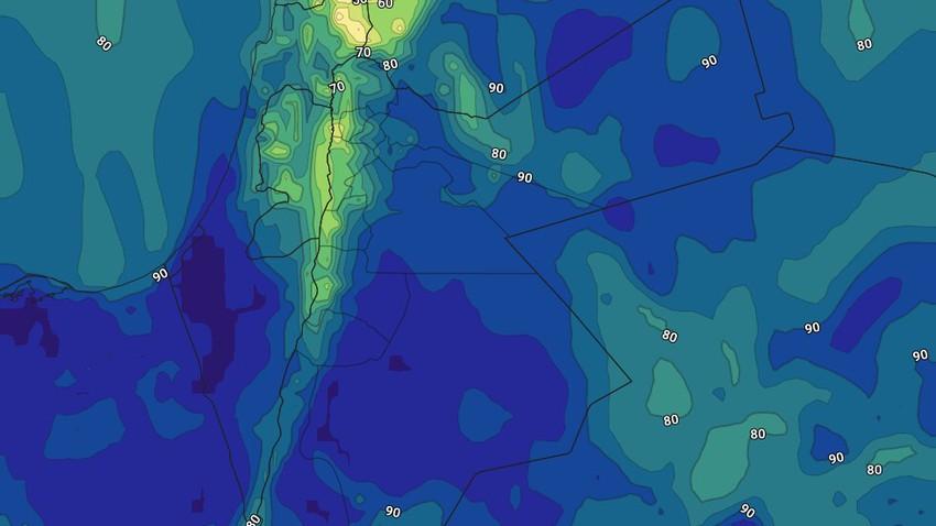 الليلة | تراجع تأثير حالة عدم الاستقرار الجوي مع تشكل الضباب في مناطق عديدة ومتفرقة