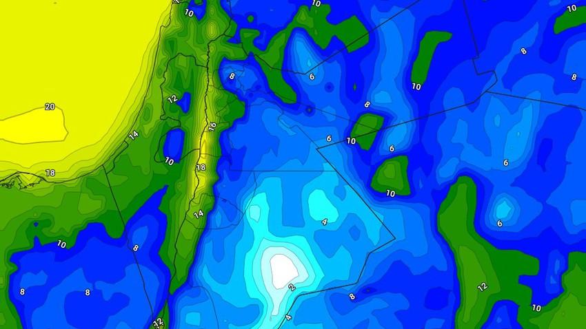 الليلة | طقس بارد مع احتمالية لتشكل الصقيع في بعض مناطق البادية الجنوبية الشرقية