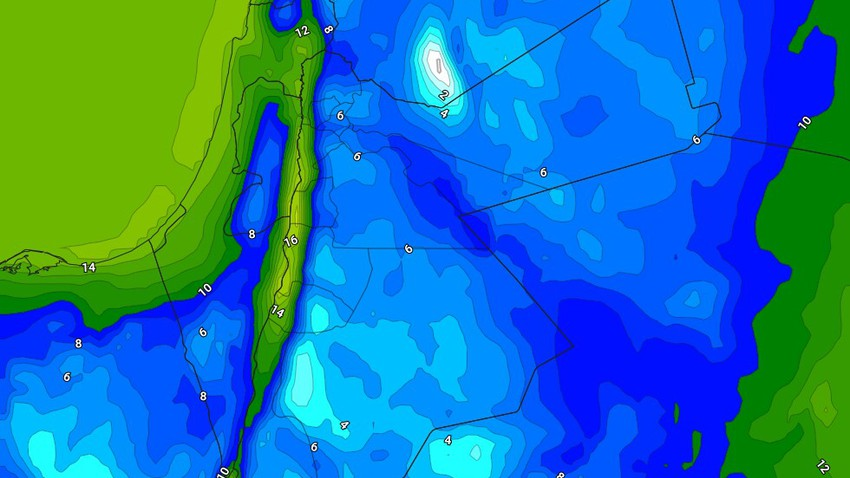 الليلة | طقس بارد إلى شديد البرودة وفرصة ضعيفة لزخات من الأمطار في بعض المناطق