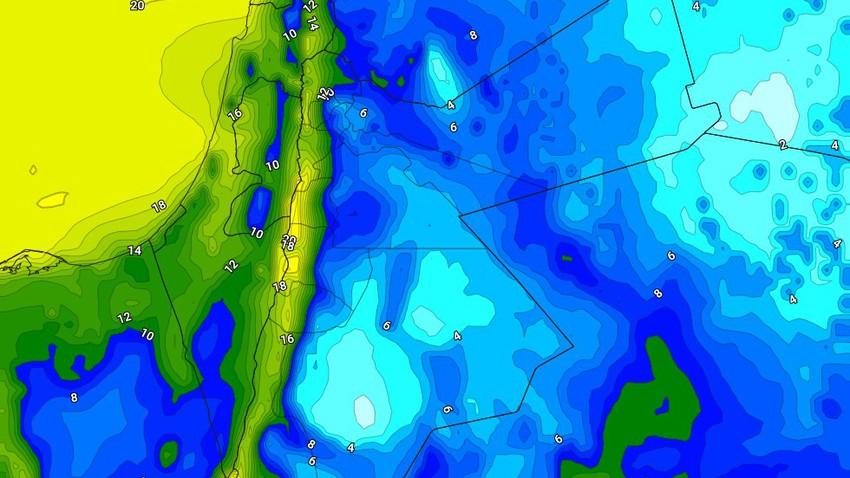 الليلة | طقس بارد يتحول لشديد البرودة فوق بعض المناطق