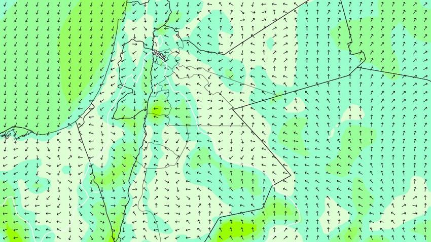 الليلة | طقس بارد نسبيًا مع هبوب الرياح الجنوبية الشرقية