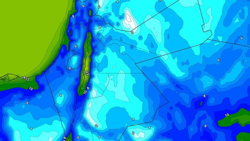الليلة | أجواء باردة إلى شديدة البرودة واستمرار فرص تشكل الصقيع ببعض المناطق