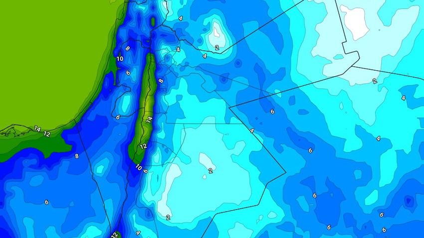 الليلة | ابتعاد المُنخفض الجوي وتراجع تدريجي على حدة الرياح مع تشكل الصقيع في بعض المناطق
