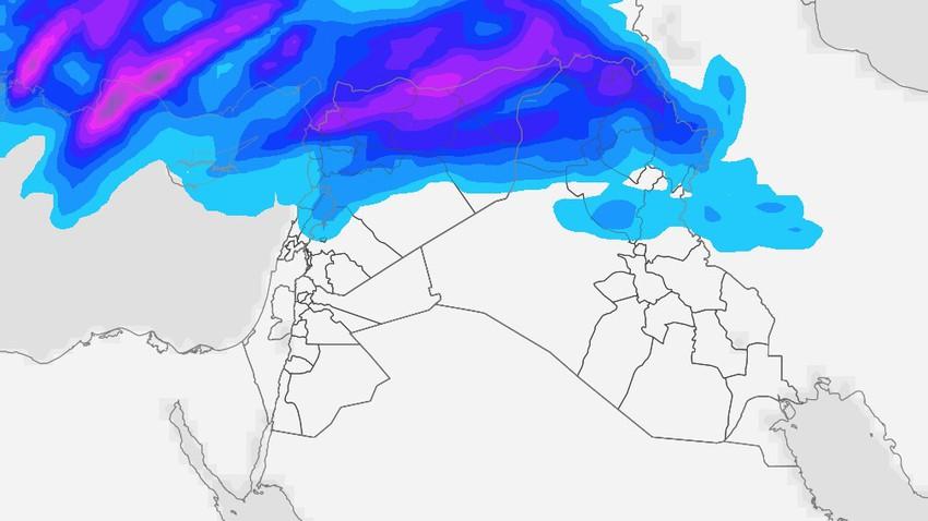 Irak | Un fort état d'instabilité de l'air dans les régions du nord et une alerte aux torrents torrentiels