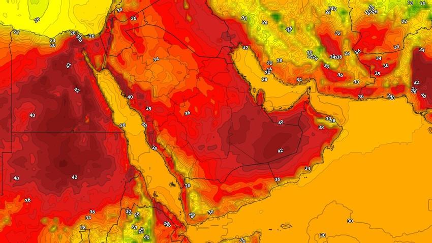 Yemen | Weather forecast on Sunday 5/8/2021