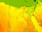 Egypt | An additional increase in temperatures on Monday, and the weather in general is warm